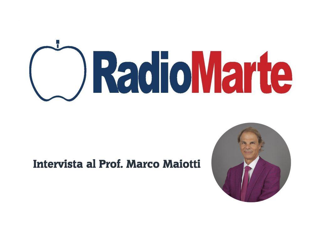 Intervista al Prof. Marco Maiotti su Radio Marte